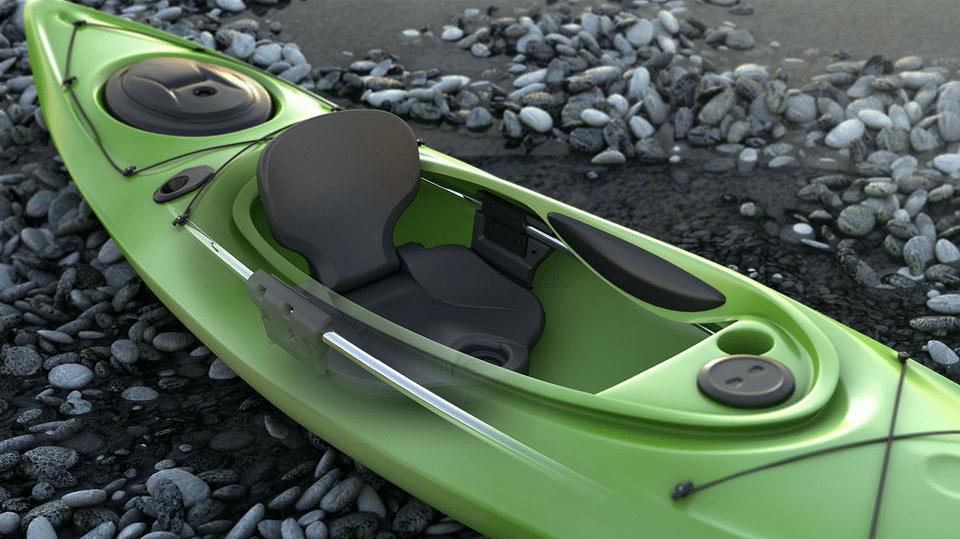 Old Town Canoe kayak seat system